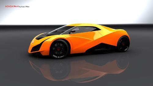 西班牙设计师设计 本田RA-X概念车曝光