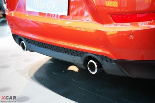 吸收S60概念车元素 沃尔沃改款C30亮相\(2\)