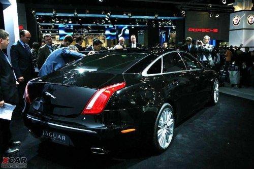 2010款捷豹XJ亮相 计划于明年引入中国\(2\)