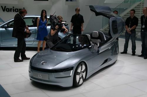 或于2013年投产 大众正式发布L1概念车