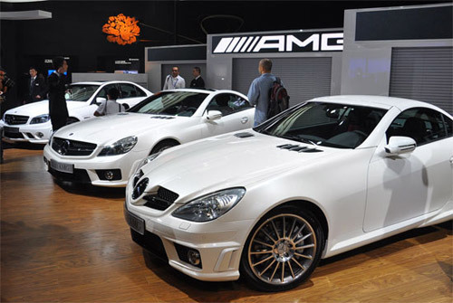 奔驰AMG三款车型成都车展亮相 售99.8-256.8万