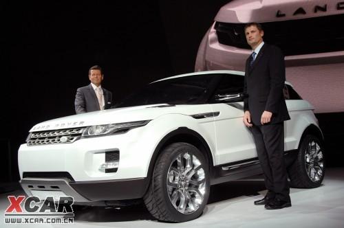 跨界风潮 路虎宣布量产LRX双门概念车