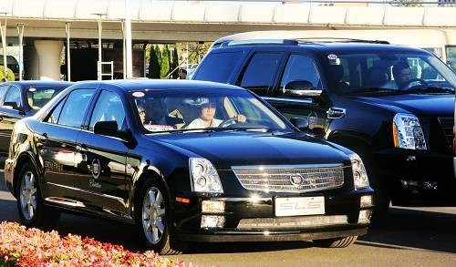 达沃斯贵宾专用凯迪拉克SLS赛威公开拍卖