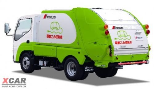 垃圾车也环保 采用三菱i-MiEV电动系统
