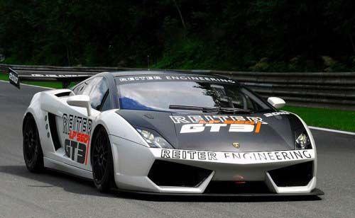 兰博基尼盖拉多GT3赛车 搭5.2L V10引擎