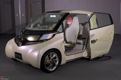 丰田将发布纯电力汽车 FT-EV II概念车