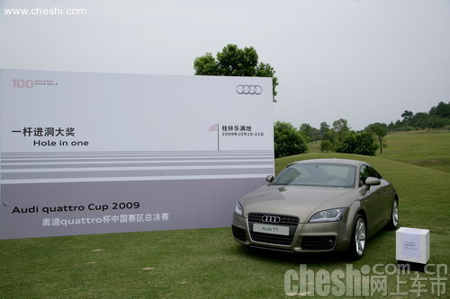 2009奥迪quattro杯总决赛收杆 深圳奥德用户夺冠