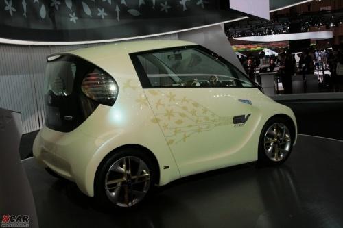 高速电动小车 丰田FT-EV II概念车亮相
