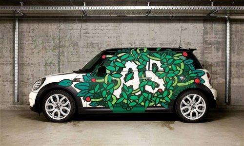 10款车型10个风格 MINI推出彩绘车型