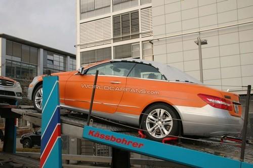 洛杉矶车展发布 全新奔驰E级敞篷曝光
