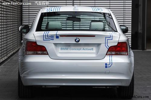 宝马推第二款电动车 ActiveE官方图发布