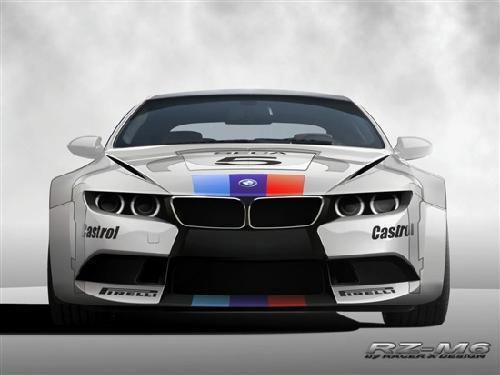 Racer X改装公司暴改M6 外形已离经叛道