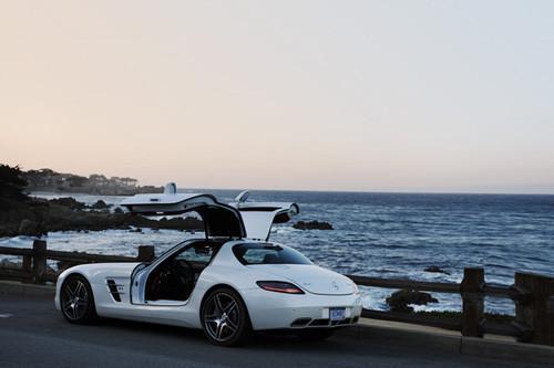 经典重现 海外试梅赛德斯-奔驰SLS AMG