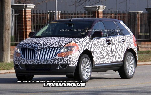 林肯全新2011款MKX即将亮相底特律车展