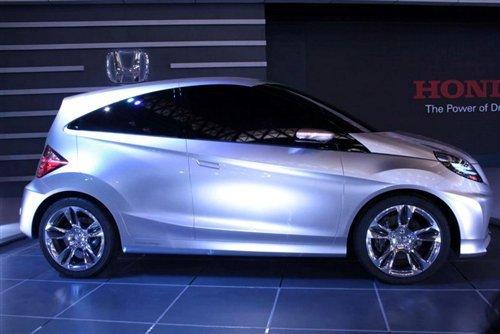 明年正式量产 本田发布全新入门级小车