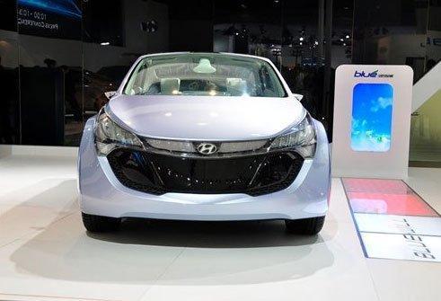"""现代""""Blue-Will""""概念车将亮相北美车展"""