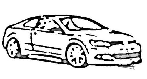 或亮相北美车展 大众Jetta Coupe设计草图曝光