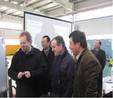 高级副总裁安迪·帕默抵达郑州日产调研