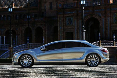 预示未来设计方向 奔驰概念车将亮相北美车展