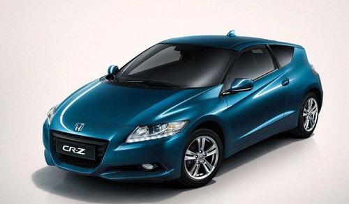 油电混搭 全新2011款本田CR-Z亮相北美车展