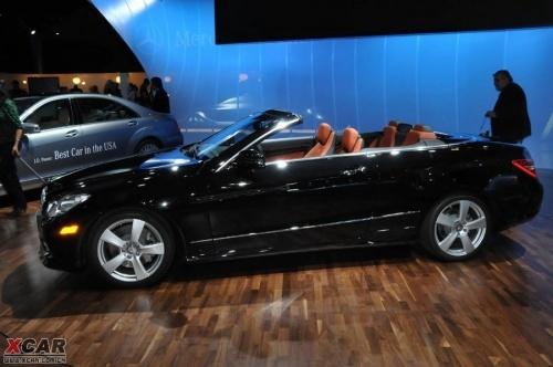 奔驰E级敞篷版车型底特律车展正式发布