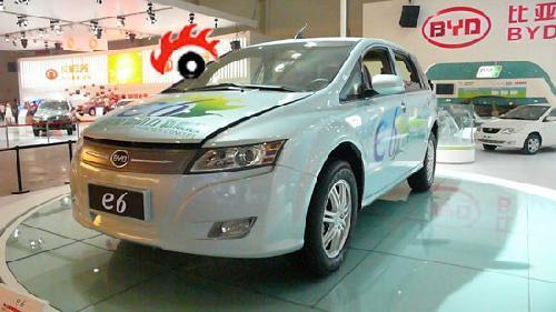比亚迪电动车E6计划下半年在北美上市