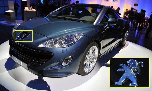 标致更换新车标 将于北京车展在华亮相