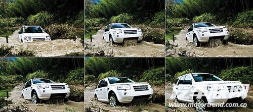 地质学家!试驾体验2010款路虎神行者2