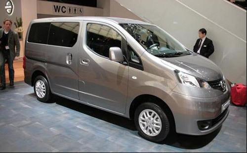 郑州日产多功能商用车NV200今年6月上市\(图\)