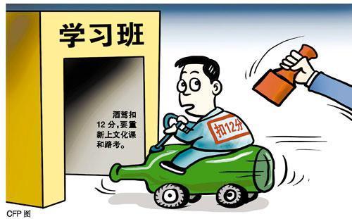 机动车驾驶证申领和使用新规 酒后驾驶扣分翻倍