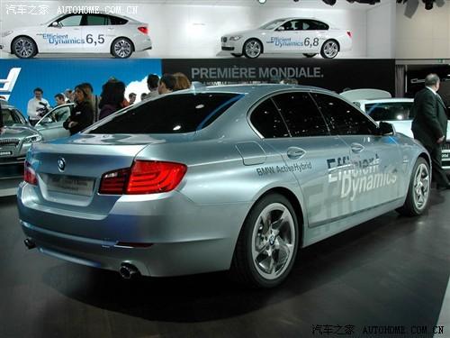 日内瓦车展:新宝马5系混合动力车亮相