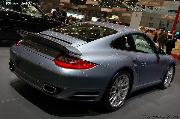 保时捷911 Turbo S亮相日内瓦车展
