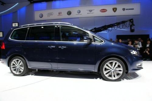 日内瓦车展 大众全新一代夏朗正式发布