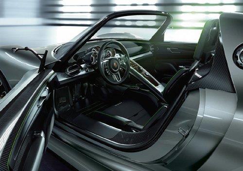 保时捷918 Spyder概念车 兼顾动力环保
