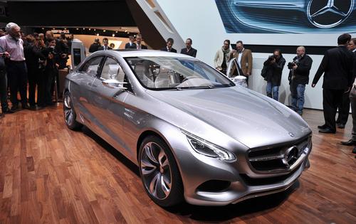 CLS的未来 奔驰F800概念车日内瓦亮相