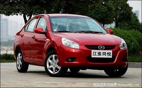 2010年车市开门红 江淮乘用车2.5万辆完美开局