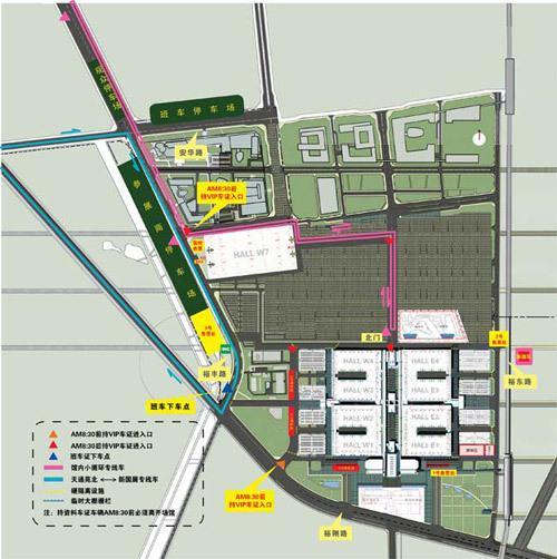 2010\(第十一届\)北京国际车展交通指南