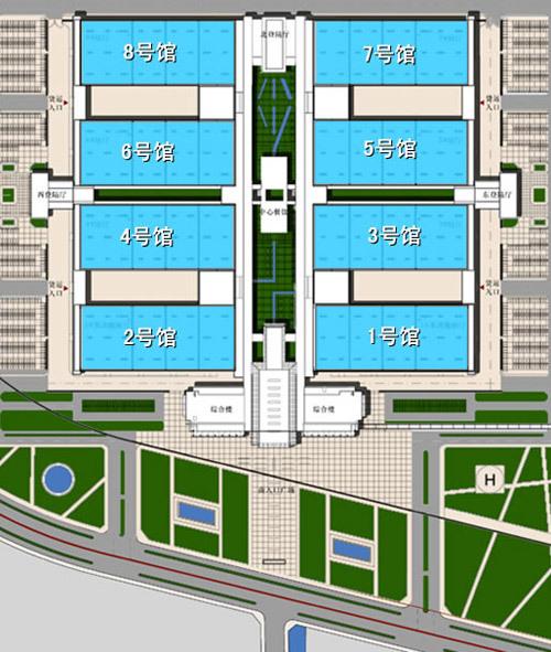 2010\(第十一届\)北京国际车展展馆指南