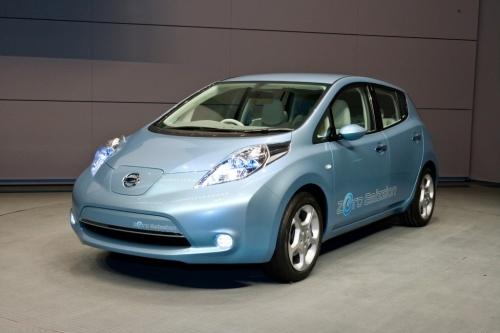日产LEAF北美启动预售 2011年进入国内