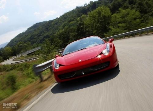 7月进口 法拉利458 Italia亮相北京车展