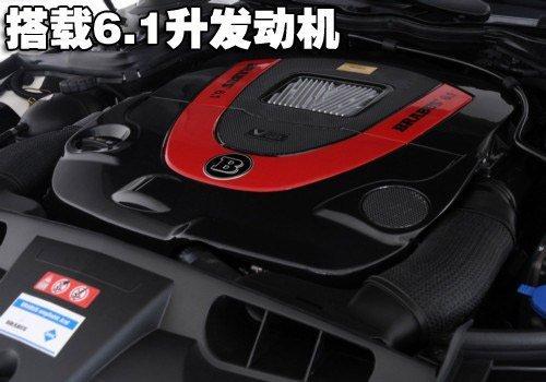 搭载6.1升引擎 搏速改装奔驰新E敞篷车