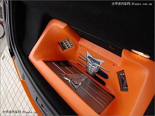 超级跑车再升级 橙色兰博基尼-另类改装