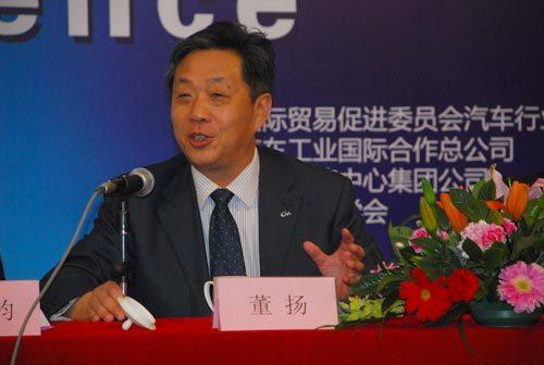 董扬:北京车展与国际车展有一定差距