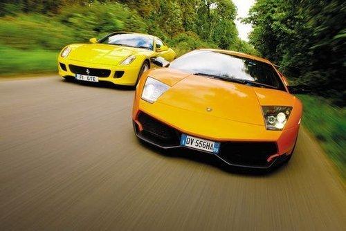对抗互补 法拉利599对比兰博基尼LP670SV