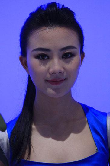 \[车模\]2010北京国际车展性感女车模\(3\)