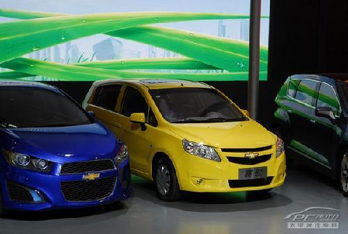 低碳减排新主力 北京车展亮相小车大PK\(5\)