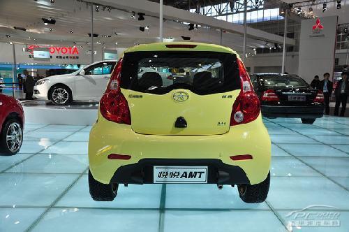 低碳减排新主力 北京车展亮相小车大PK\(2\)