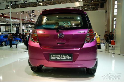 低碳减排新主力 北京车展亮相小车大PK\(3\)