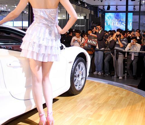 2010年北京国际汽车展览会25日上午举行开幕仪式