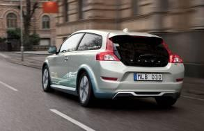 """沃尔沃C30纯电动车展现沃尔沃""""DRIVe""""零排放环保战略"""